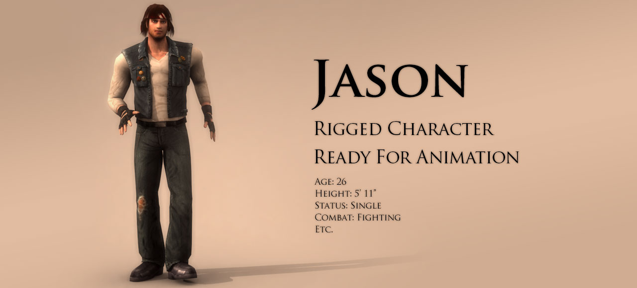Character Pack: Jason